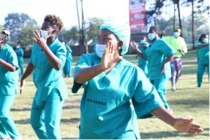 Boosting Healthcare Workers' Psychosocial Wellbeing through Zumba