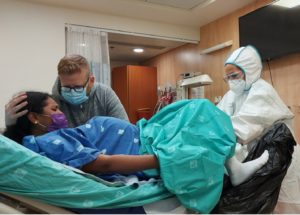 When Corona came to our delivery room, Israel
